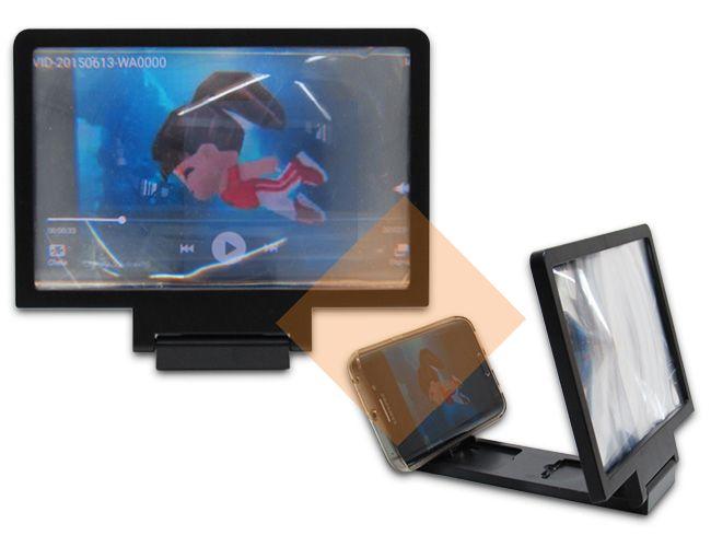 Ampliador de tela para smartphones