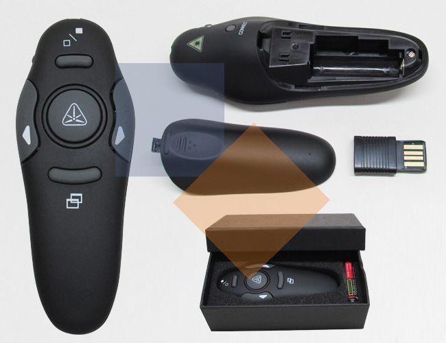 Apresentador de slides / laser point
