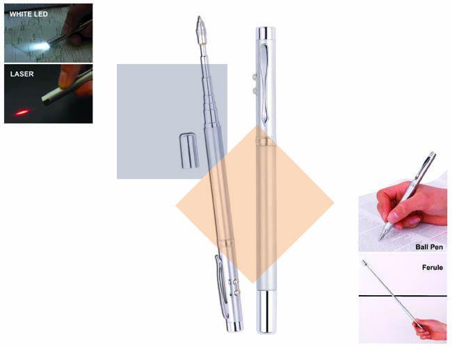 Caneta em metal com Laser