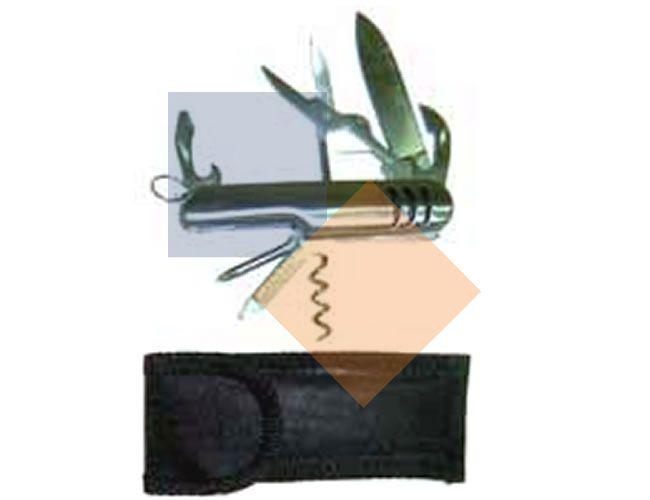 Mini canivete em metal 7 funções