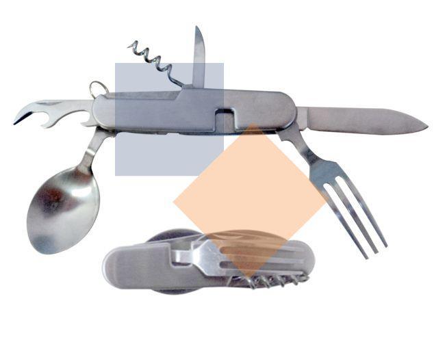 Canivete em metal 6 funções