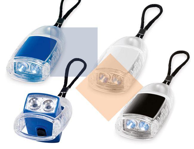 Chaveiro com 2 LEDs