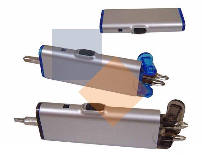 Lanterna com kit ferramentas