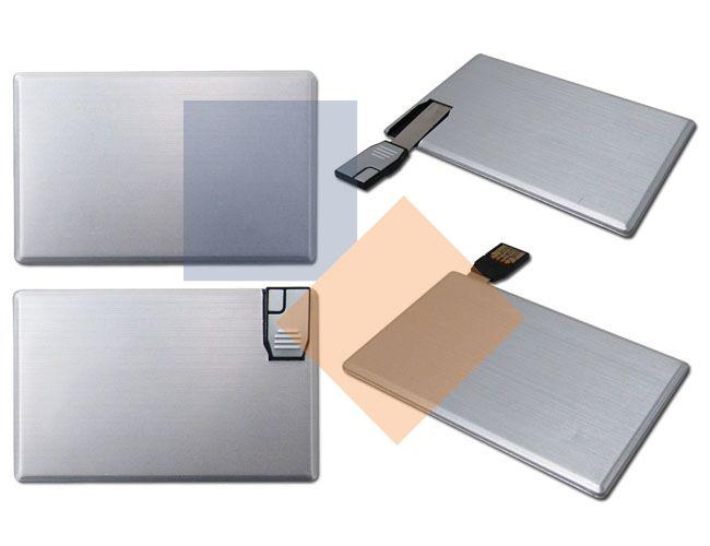 Pen Card de alumínio