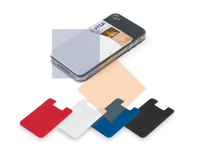 Porta cartão para celular