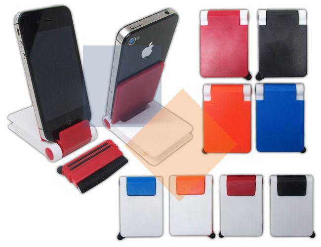 Porta celular com touch e limpador
